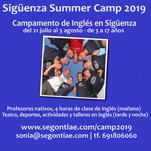 Sigüenza Summer Camp